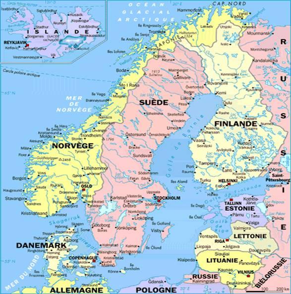 Carte Europe Du Nord En Francais.Le Ecommerce Poursuit Sa Croissance En Scandinavie Et Europe