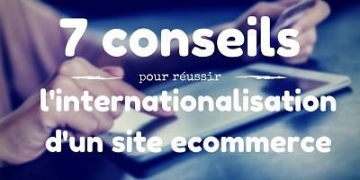 consiel internationalisation site ecommerce
